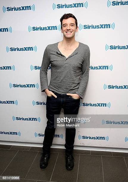 Michael Urie visits at SiriusXM Studios on January 10 2017 in New York City