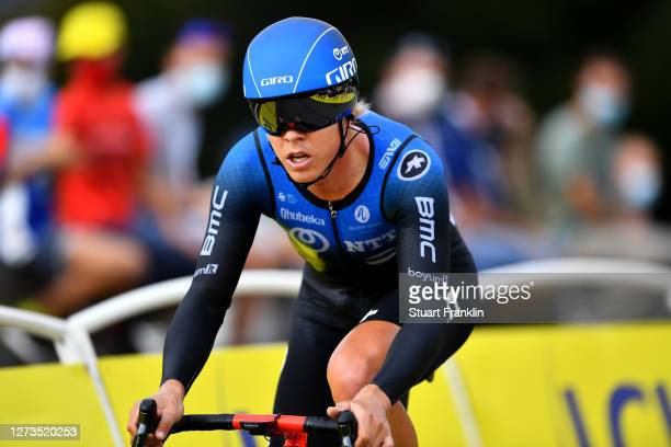 Michael Valgren Andersen of Denmark and NTT Pro Cycling Team / during the 107th Tour de France 2020, Stage 20 a 36,2km Individual Time Trial stage...
