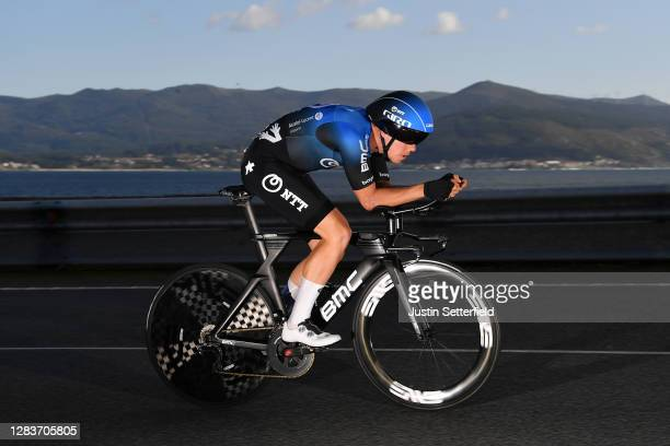 Michael Valgren Andersen of Denmark and NTT Pro Cycling Team / during the 75th Tour of Spain 2020, Stage 13 a 33,7km Individual Time Trial stage from...