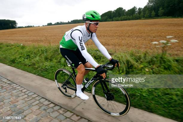 Michael Valgren Andersen of Denmark and Team Dimension Data / Cobblestones / during the 15th Binck Bank Tour 2019, Stage 7 a 178,1km stage from...