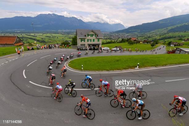 Michael Valgren Andersen of Denmark and Team Dimension Data / Simon Spilak of Slovenia and Team Katusha Alpecin / Tsgabu Gebremaryam Grmay of...