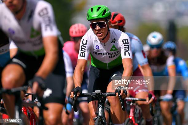 Michael Valgren of Denmark and Team Dimension Data / during the 10th Grand Prix Cycliste de Montreal 2019 a 219,6km race from Montreal to Montreal /...