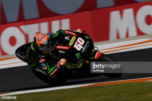 Michael Van Der Mark Monster Yamaha Tech 3 during free practice at the Gran Premio Motul de la Comunitat Valenciana Circuit of Ricardo TormoValencia...