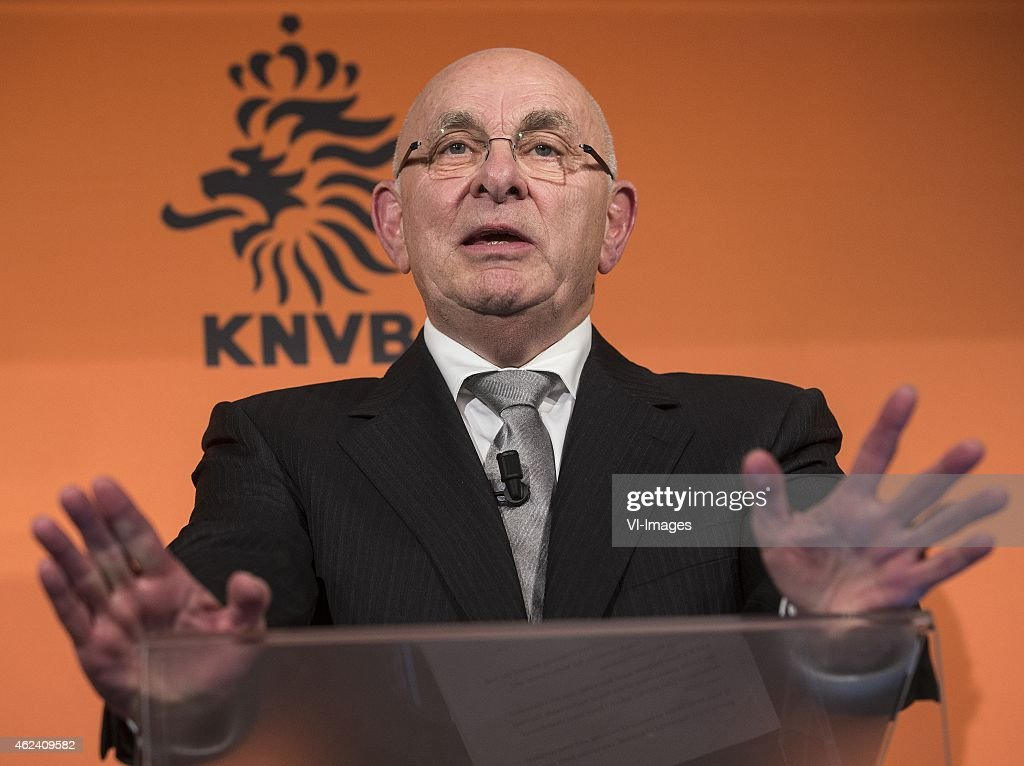 "FIFA presidency candidate - ""Michael van Praag"" : News Photo"
