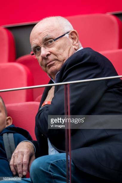 Michael van Praag during the Dutch Eredivisie match between Ajax Amsterdam and FC Emmen at the Johan Cruijff Arena on August 25, 2018 in Amsterdam,...