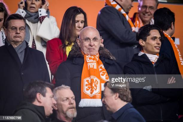 Michael van Praag during the UEFA EURO 2020 qualifier group C qualifying match between The Netherlands and Germany at the Johan Cruijff Arena on...