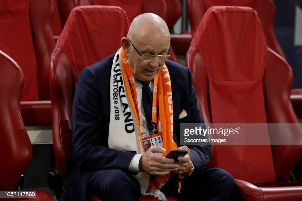 Michael van Praag during the UEFA Nations league match between Holland v Germany at the Johan Cruijff Arena on October 13, 2018 in amsterdam...