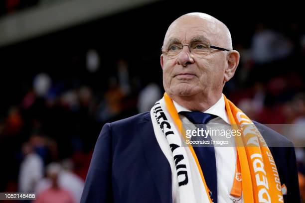 Michael van Praag of Holland during the UEFA Nations league match between Holland v Germany at the Johan Cruijff Arena on October 13, 2018 in...