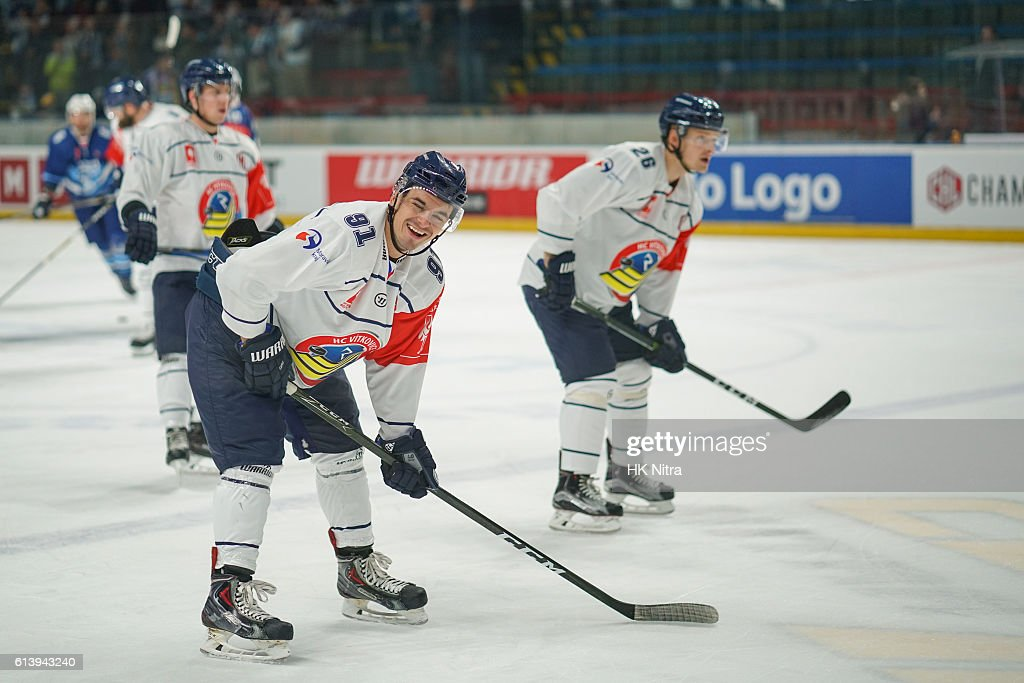 SVK: HK Nitra v Vitkovice Ridera Ostrava - Champions Hockey League