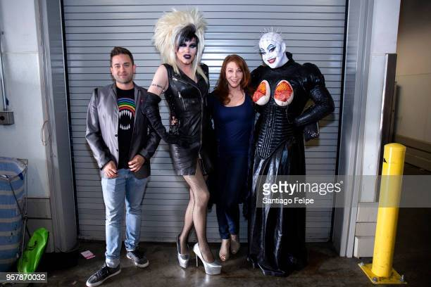 Michael Varrati Sharon Needles Cassandra Peterson and Peaches Christ attend the 4th Annual RuPaul's DragCon at Los Angeles Convention Center on May...