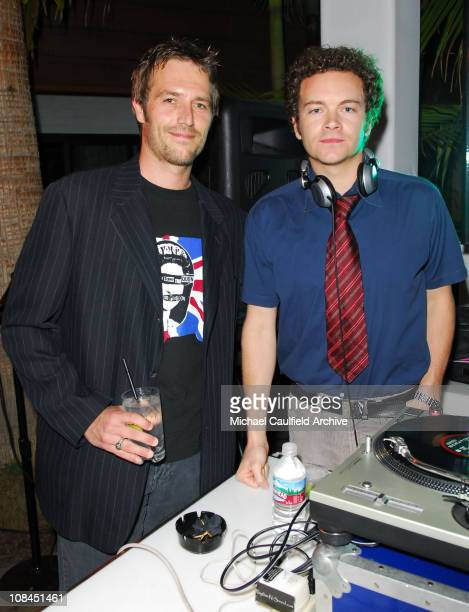 Michael Vartan and Danny Masterson during Xbox 360 E3 Party at Roosevelt Hotel in Hollywood, California, United States.