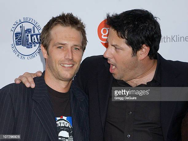Michael Vartan and Greg Grunberg during 'Hollywood's Helping Hands' Benefit to Raise Funds for Epilepsy Awareness June 2 2005 at Avalon in Hollywood...