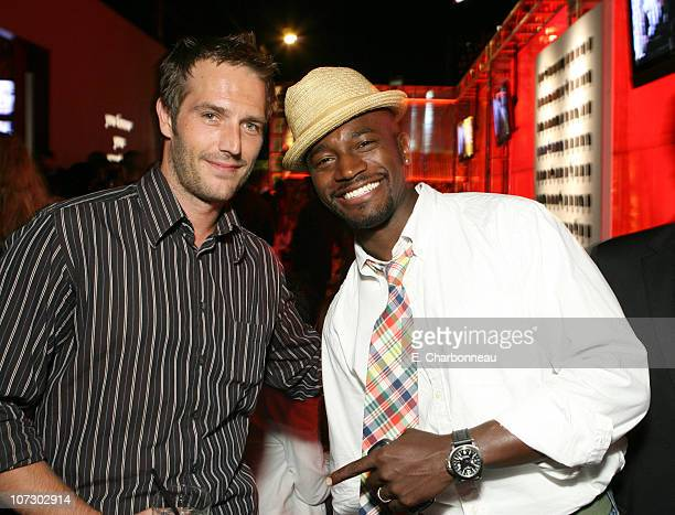 Michael Vartan and Taye Diggs during Entertainment Weekly Magazine 4th Annual Pre-Emmy Party - Inside at Republic in Los Angeles, California, United...