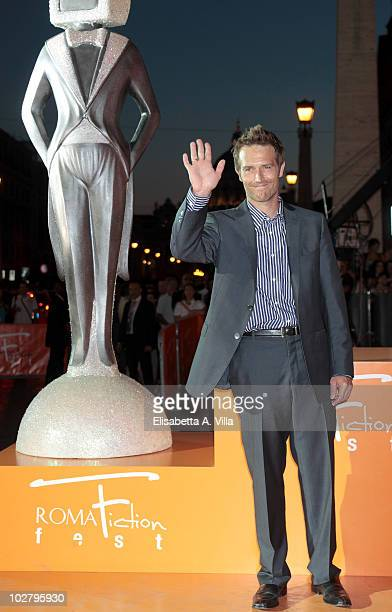 Michael Vartan arrives at the Roma Fiction Fest 2010 Ceremony Awards at Auditorium Conciliazione on July 10 2010 in Rome Italy