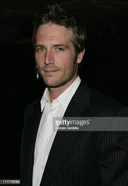 """Michael Vartan during Ben Stiller and Christine Taylor Host a Grand Classics Screening of """"Sweet Smell of Success"""" with YSL at the Playboy Mansion at..."""