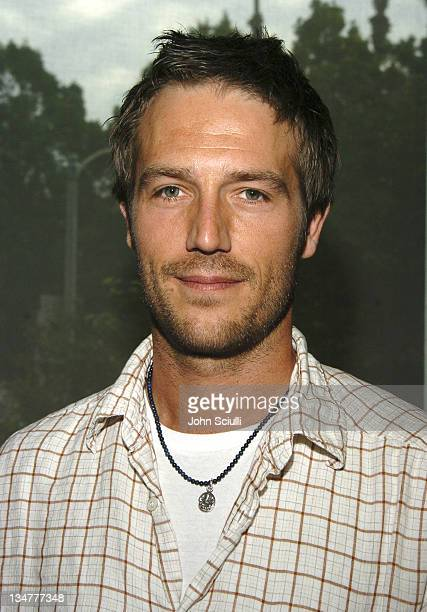 Michael Vartan during Gibson Guitar Paint for Pep Charity Event at Gibson Baldwin Showroom in Beverly Hills CA United States