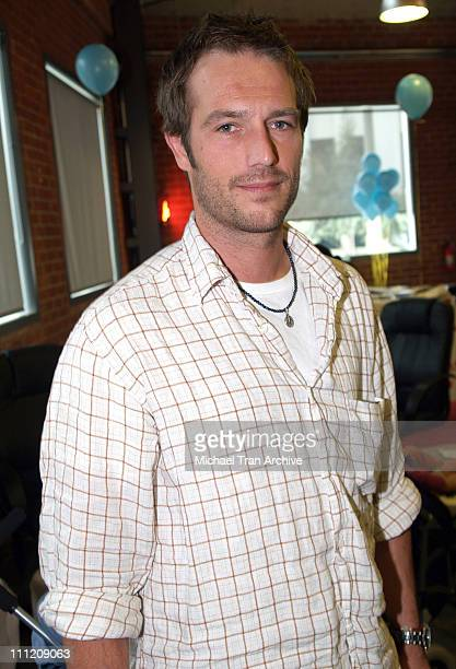 Michael Vartan during Gibson Guitar Paint for PEP Charity Event in Los Angeles California United States