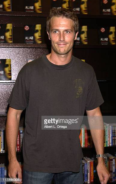 Michael Vartan during InStore Signing for Alias Declassified by Cast Members at Barnes Noble Bookstore at The Grove in Los Angeles California United...