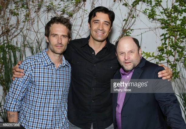 Michael Vartan Gilles Marini and Jason Alexander attend the Tower Cancer Research Foundation's 'Cancer Free Generation' Celebrity Poker Tournament on...