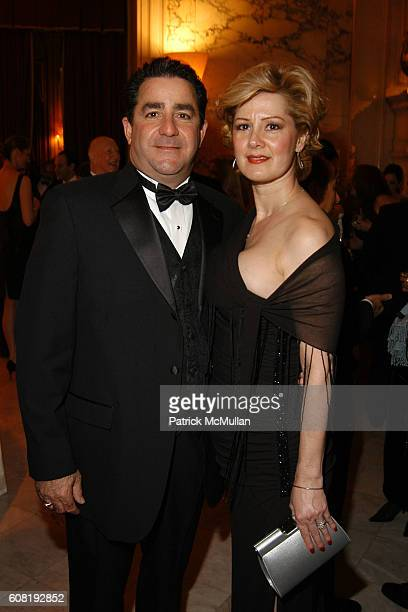 Michael Voccola and Nancy Voccola attend STEVEN ANGELA KUMBLE'S Wedding Celebration at Metropolitan Club on April 13 2007 in New York City