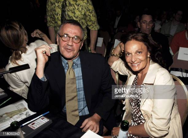 Michael Volbracht and Diane Von Furstenberg during Gen Art's Eighth Annual Styles International Design Competition 2006 - Arrivals and Front Row at...