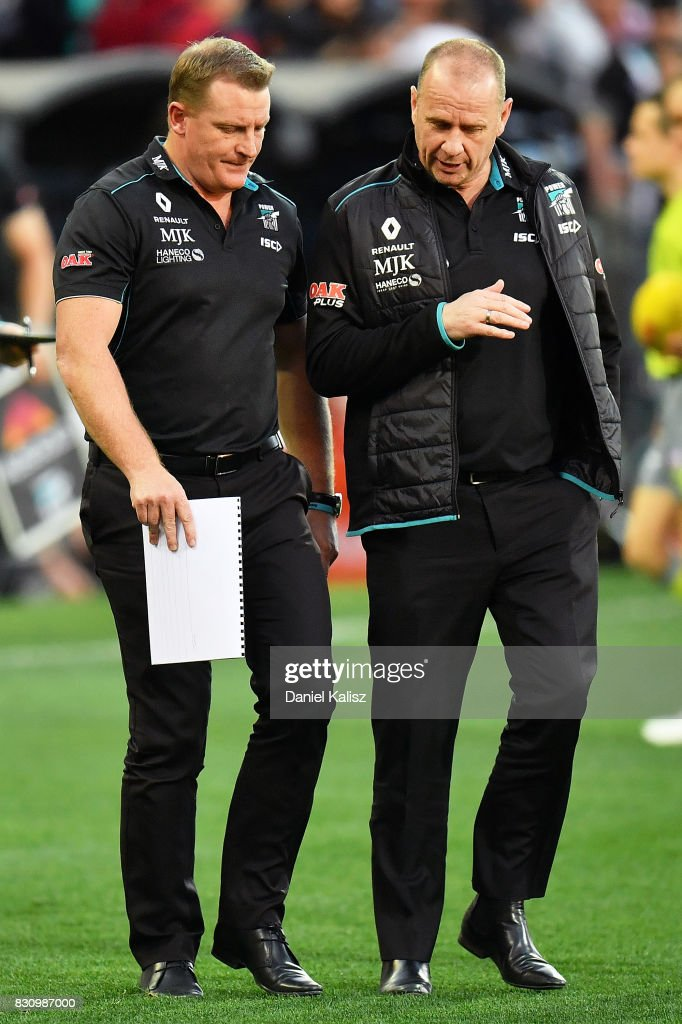 AFL Rd 21 - Port Adelaide v Collingwood