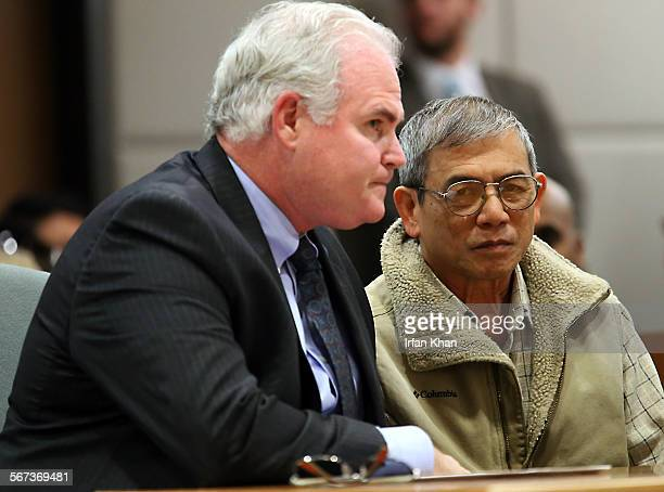 MARCH 6 2015 Michael Vuong right pleads no contest to being an accessory to fleeing the scene after fatally striking the son of federal judge Dean...