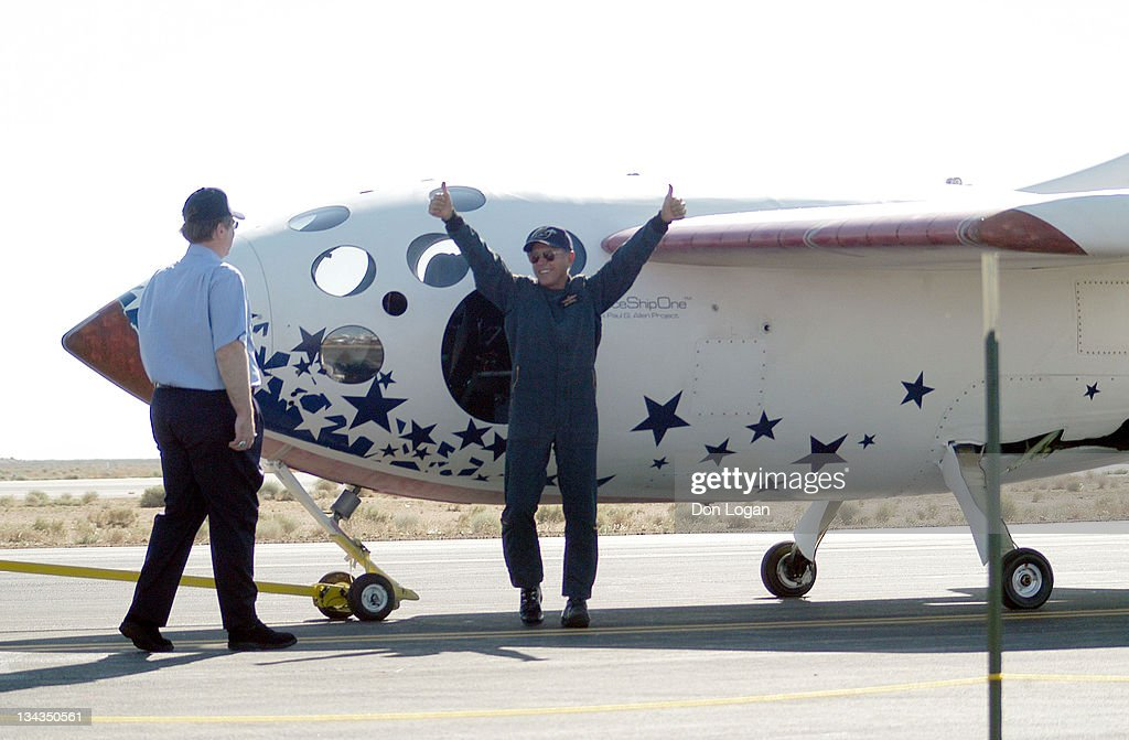 SpaceShipOne - Landing of Inaugural Space Flight - June 21, 2004