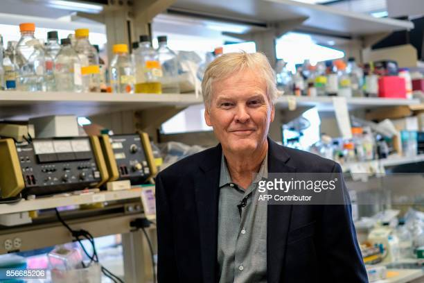 Michael W Young one of the recipients of the 2017 Nobel Prize in Physiology or Medicine for his research shedding light on the inner workings of the...