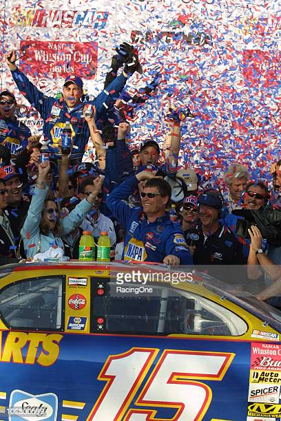 Michael Waltrip won the most competitive Daytona 500 since 1974 It was his first ride as DEI teammate to Dale Earnhardt Jr who finished second