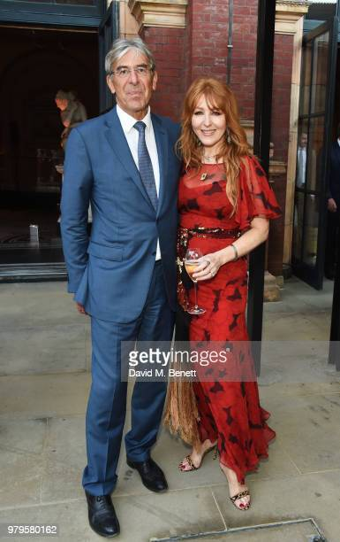 Michael Ward Harrods CEO and Charlotte Tilbury attend the Summer Party at the VA in partnership with Harrods at the Victoria and Albert Museum on...