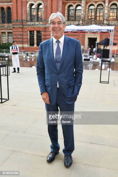Michael Ward Harrods CEO attends the Summer Party at the VA in partnership with Harrods at the Victoria and Albert Museum on June 20 2018 in London...