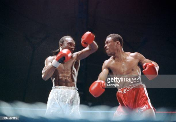 Michael Watson v Nigel Benn May 1989 Boxing Super middleweight