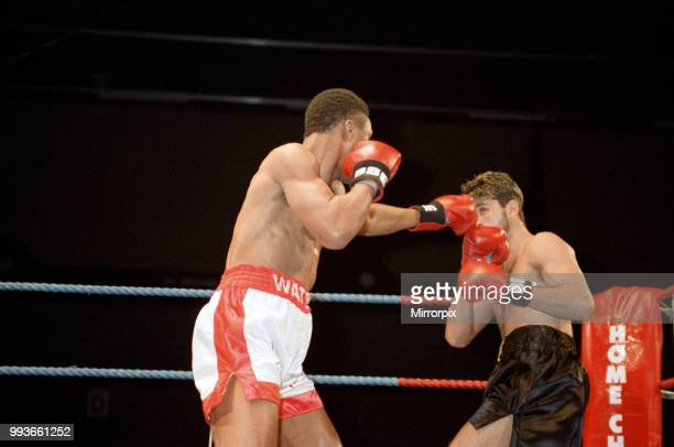 Michael Watson vs Craig Trotter for the Commonwealth middleweight title Brentwood Centre Brentwood England Watson retained his Commonwealth title by...