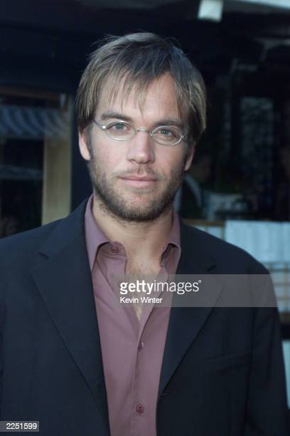 Michael Weatherly at Fox TV's TCA party at Yamashiro's restaurant in Los Angeles Ca 7/18/01 Photo by Kevin Winter/Getty Images