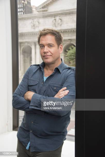Michael Weatherly at the Bull Press Conference at the Andaz Hotel on September 21 2018 in New York City