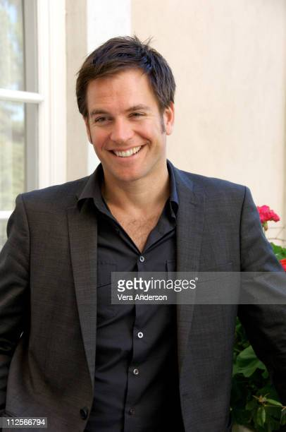 Michael Weatherly at the 'NCIS' press conference at the Four Seasons Hotel on February 26 2008 in Beverly Hills California