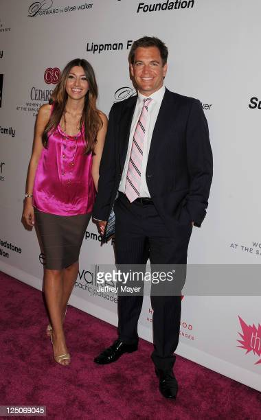 Michael Weatherly attends the Pink Party '11 Hosted By Jennifer Garner To Benefit CedarsSinai Women's Cancer Program at Drai's Hollywood on September...