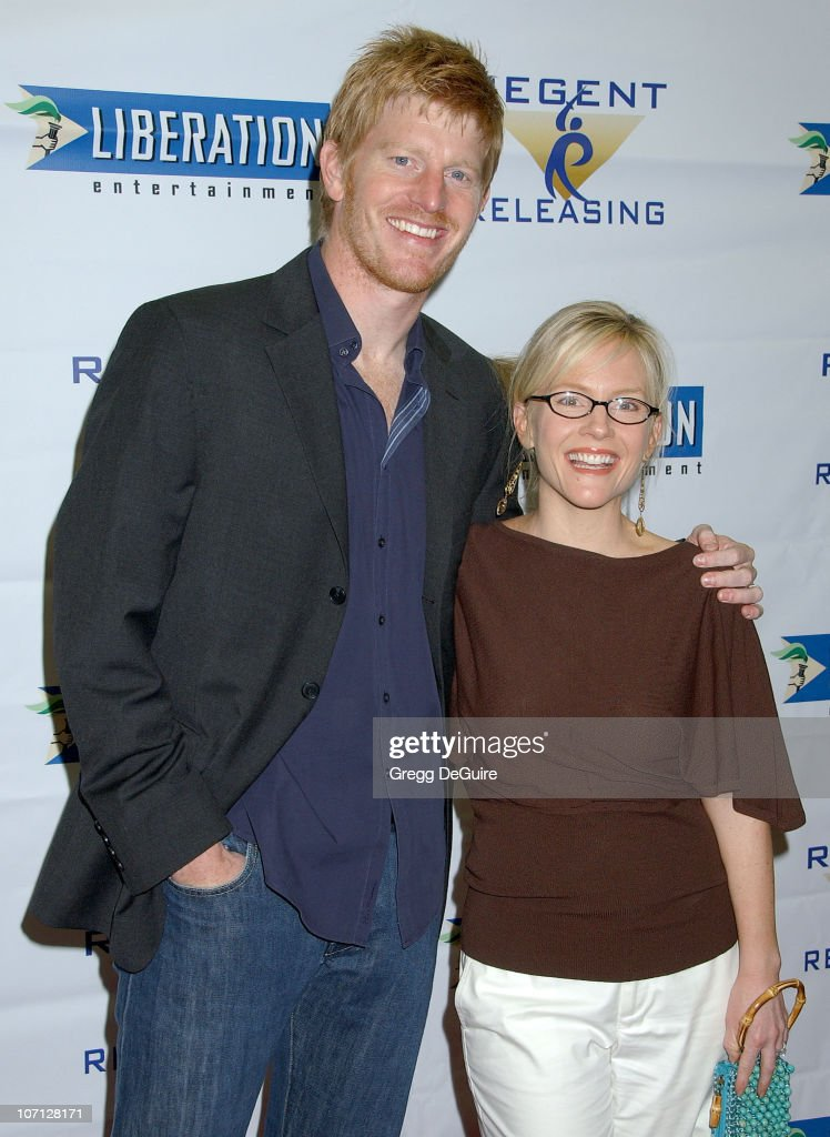Michael Weaver and Rachael Harris during 'Stephanie Daley' Los Angeles Screening - Arrivals at Regent Showcase Theatre in Hollywood, California, United States.
