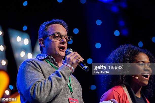 Michael Weiner attends BroadwayCon 2016 at the New York Hilton Midtown on January 24, 2016 in New York City.