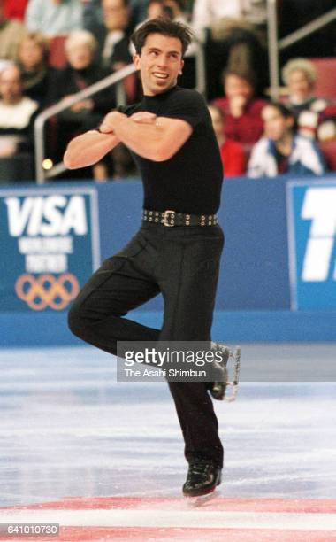 Michael Weiss competes in the Men's Singles Short Program during day three of the US Figure Skating Championships at CoreStates Center on January 6...