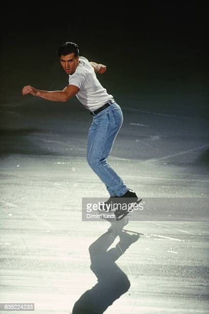 Michael Weiss from USA competes at the 1996 Trophee Lalique