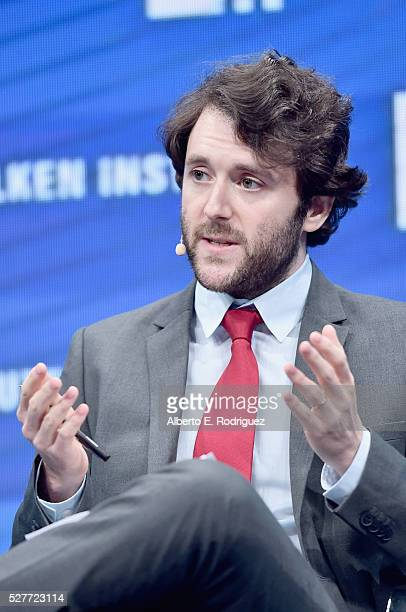 Michael Weiss speaks onstage during 2016 Milken Institute Global Conference at The Beverly Hilton on May 03 2016 in Beverly Hills California