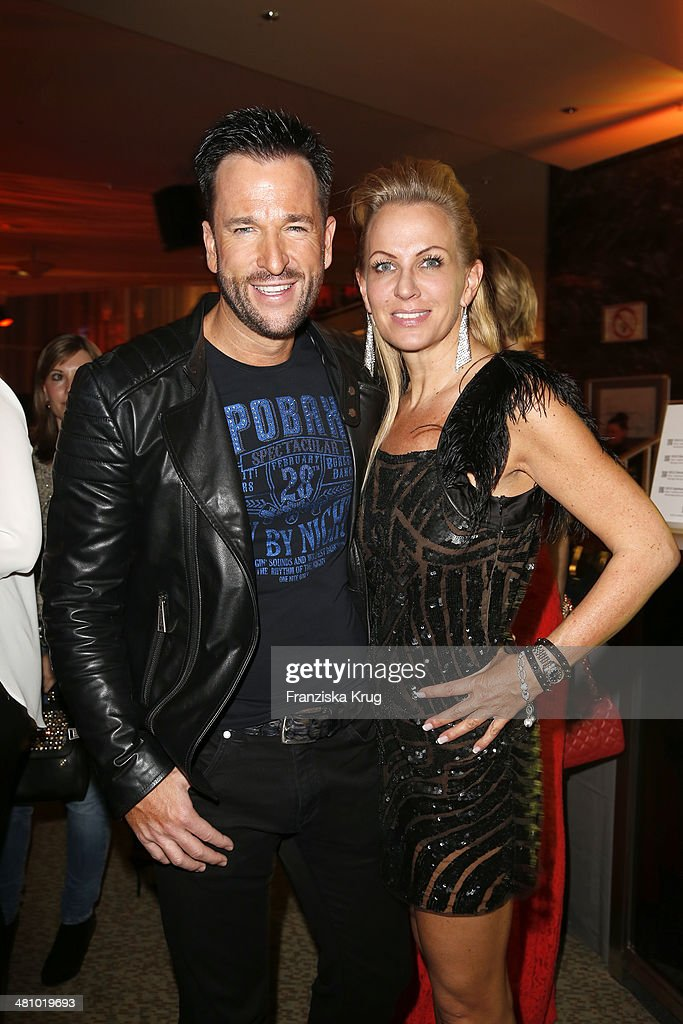 Michael Wendler And Claudia Norberg Attend The Echo Award 2014 Party