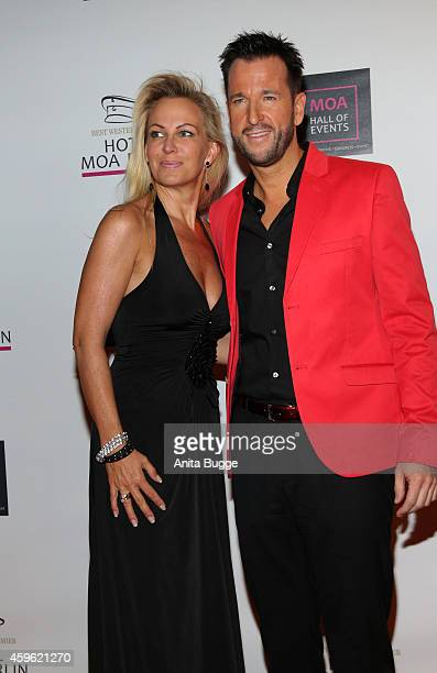 Michael Wendler and his wife Claudia Norberg attend the 'Smago Award 2014' at MOA hotel on November 26 2014 in Berlin Germany