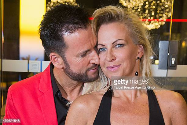 Michael Wendler and his wife Claudia Norberg attend the Smago Award 2014 at Best Western MOA Hotel on November 26 2014 in Berlin Germany