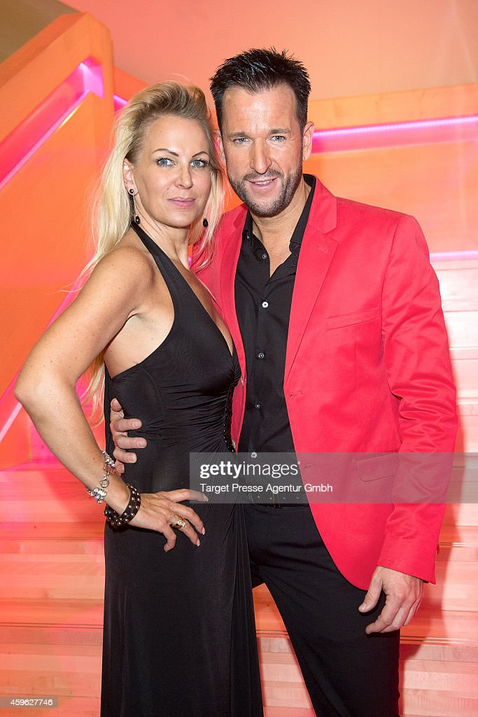 Michael Wendler And His Wife Claudia Norberg Attend The Smago Award