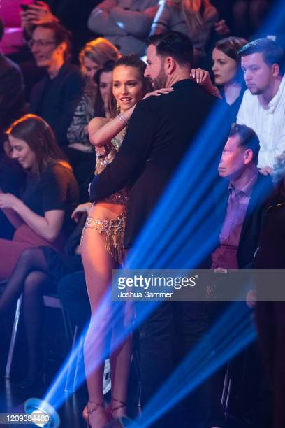 Michael Wendler and Laura Mueller during the 1st show of the 13th season of the television competition Let's Dance on February 28 2020 in Cologne...