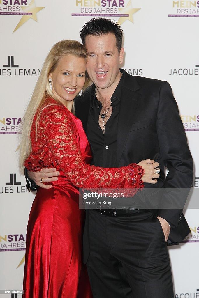 Michael Wendler Und Ehefrau Claudia Bei Der Verleihung Mein Star
