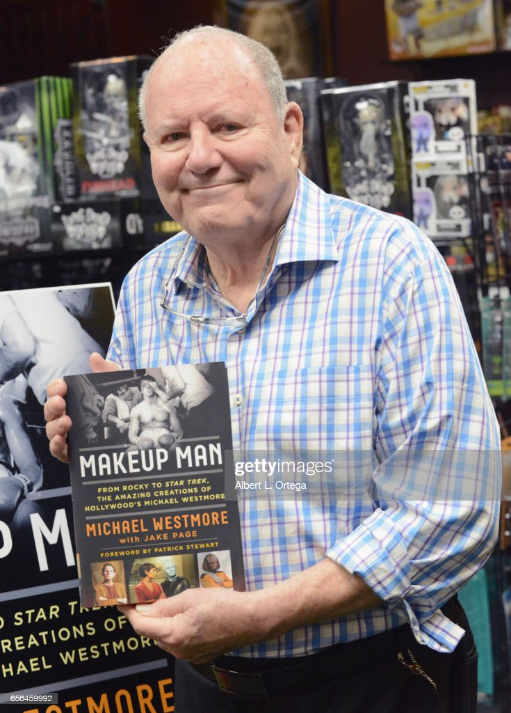 Book Signing For Michael Westmore's 'Makeup Man'